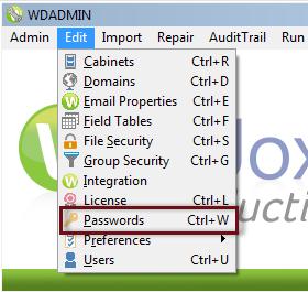 Password Protecting the Admin Program